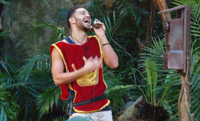 ***EMBARGO, NOT TO BE USED BEFORE 22:00 GMT, 23 Nov 2016 - EDITORIAL USE ONLY - NO MERCHANDISING*** Mandatory Credit: Photo by ITV/REX/Shutterstock (7450915fq) Royal Duties - Adam Thomas 'I'm a Celebrity...Get Me Out of Here!' TV Show, Australia - 23 Nov 2016