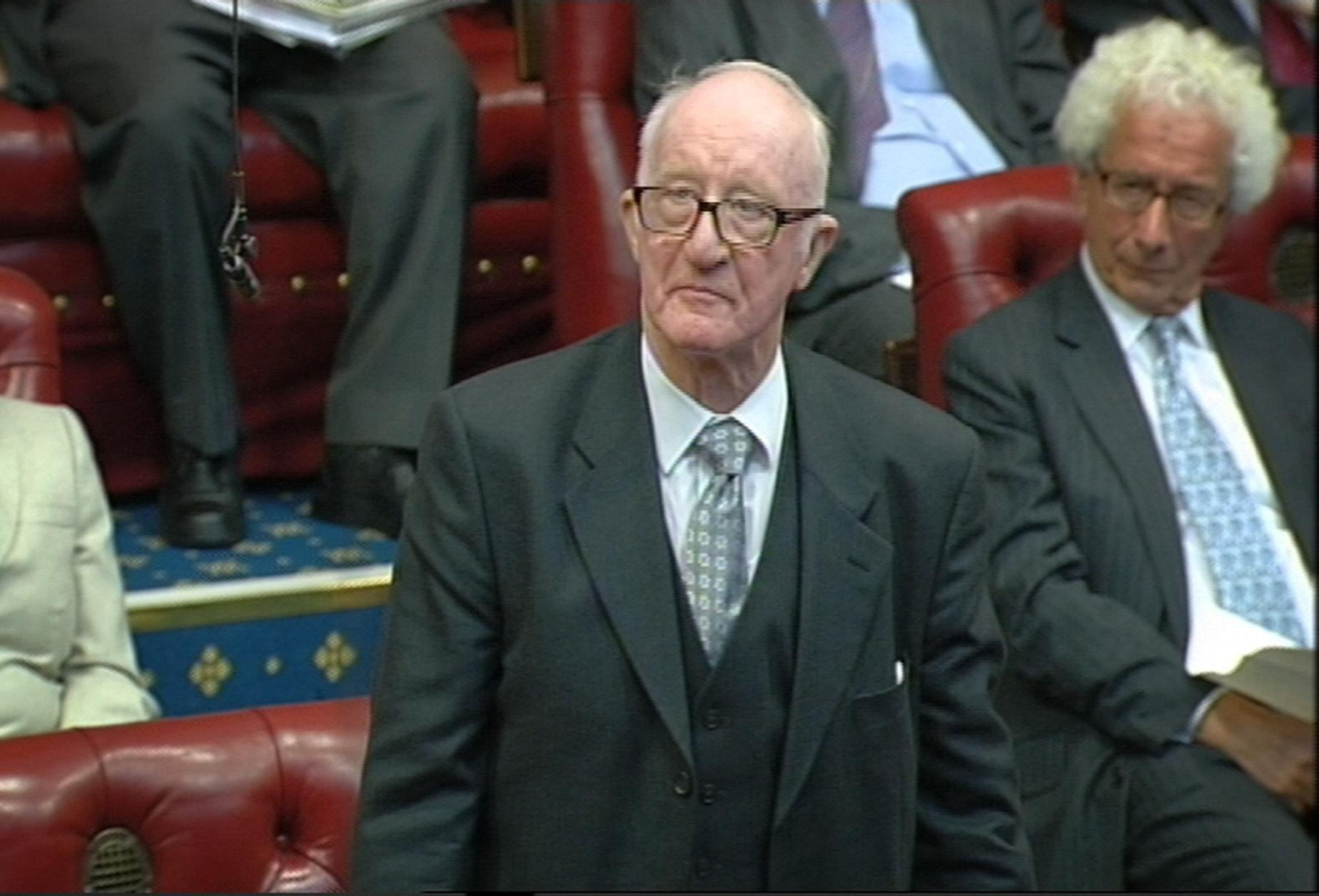 Labour peer dies after mobility scooter crash outside Parliament