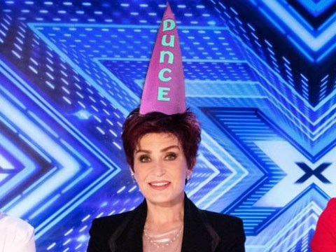 Sharon Osbourne caught holding up her X Factor cue cards — and 10 other slip-ups by Ozzy's 'dotty' dame