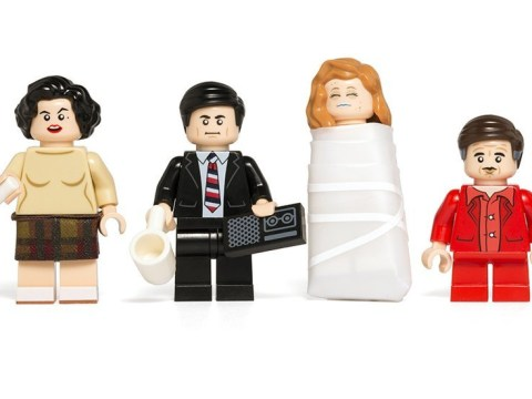 Someone has made a Twin Peaks Lego set and it's pretty damn fine