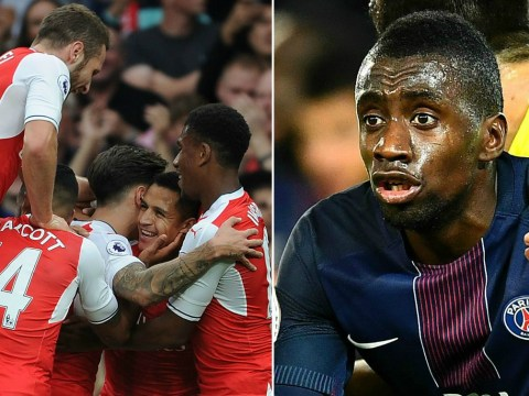 Arsenal duo Alexis Sanchez and Theo Walcott can cause us serious problems, says PSG star Blaise Matuidi