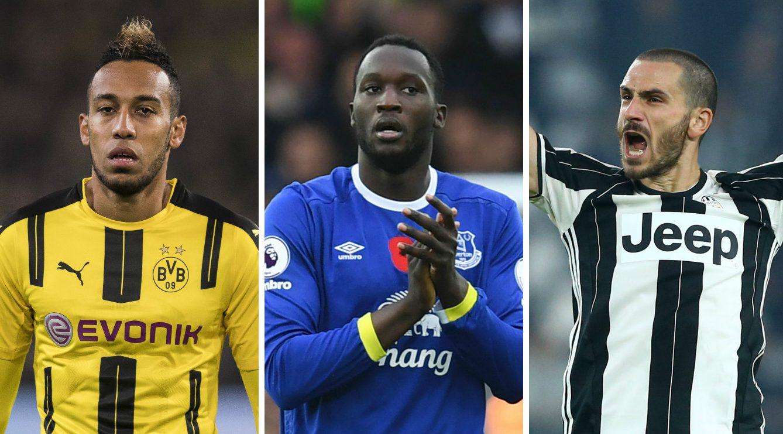 Aubameyang, Bonucci, Lukaku: 10 world class players who could move in the January transfer window
