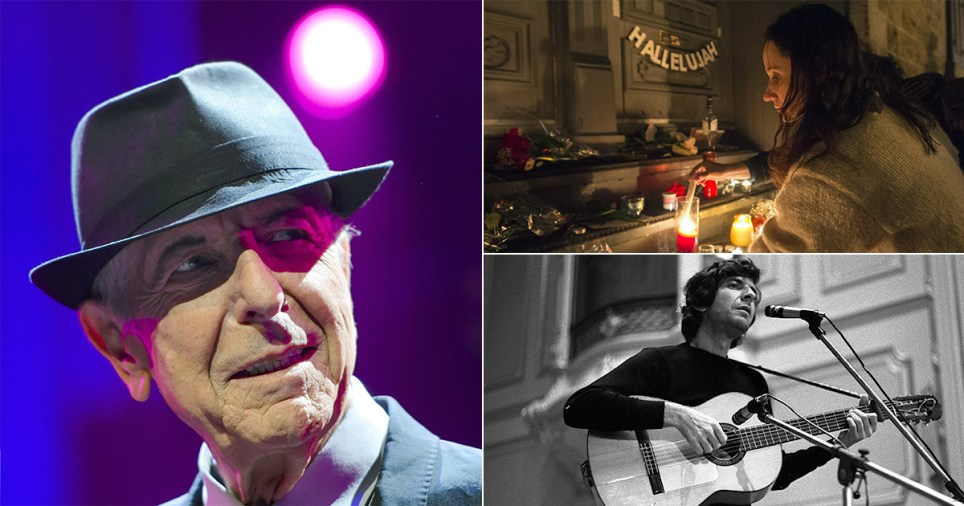 Singer Leonard Cohen has died aged 82 credit: Getty; AP
