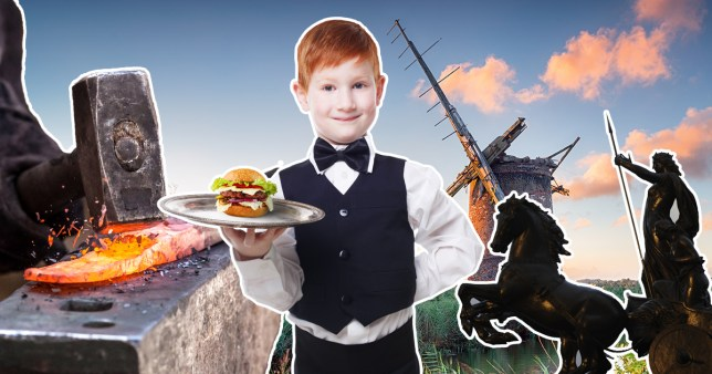 Was your ancestor a red-headed boy servant, or a blacksmith? (Picture: Shutterstock)