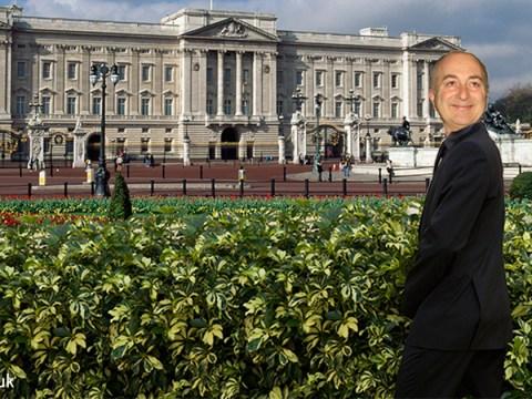 Sir Tony Robinson – aka Blackadder's Baldrick – once peed in the gardens at Buckingham Palace