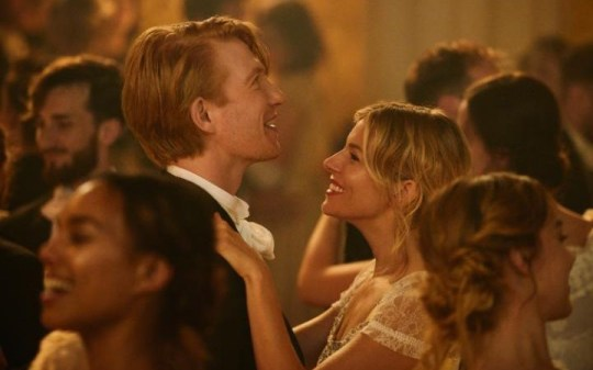 Domhnall Gleeson and Sienna Miller as Mr and Mrs Burberry (Picture: Burberry)