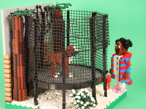 Lego recreates five of the latest John Lewis Christmas adverts in thousands of bricks