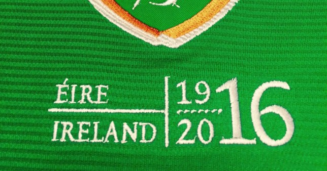 Now Fifa goes after Ireland's commemorative logo after banning England from wearing poppies