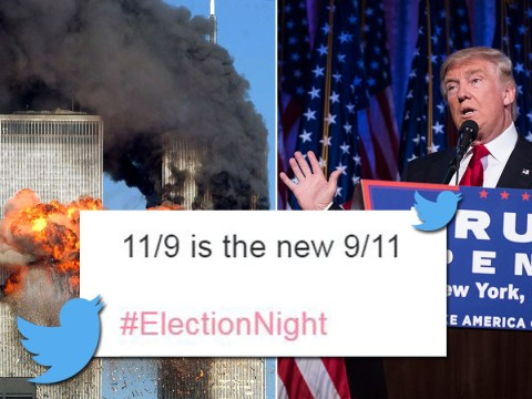 9/11 victims' families hit out at comparison with Trump victory