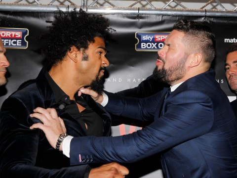 David Haye goads Tony Bellew by insisting he could turn up drunk to fight and still knock him out