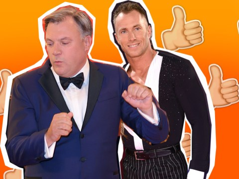 James Jordan is rooting for Ed Balls to win Strictly Come Dancing