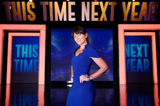 A TWOFOUR PRODUCTION FOR ITV Embargoed until 00.01 on Tuesday 25th October THIS TIME NEXT YEAR on Wednesday 2nd November TX01 Picture shows: Host DAVINA McCALL This Time Next Year...I will be a competitive Body Builder. This photograph is the joint copyright of ©ITV and Twofour Productions and can only be reproduced for editorial purposes directly in connection with the programme or event mentioned above, or ITV plc. Once made available by ITV plc Picture Desk, this photograph can be reproduced once only up until the transmission [TX] date and no reproduction fee will be charged. Any subsequent usage may incur a fee. This photograph must not be manipulated [excluding basic cropping] in a manner which alters the visual appearance of the person photographed deemed detrimental or inappropriate by ITV plc Picture Desk. This photograph must not be syndicated to any other company, publication or website, or permanently archived, without the express written permission of ITV Plc Picture Desk. Full Terms and conditions are available on the website www.itvpictures.com For further information please contact: SHANE CHAPMAN