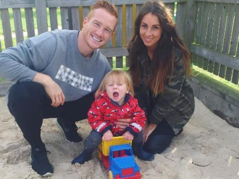 Greg Rutherford's girlfriend Susie Verrill hits back at people who criticised how they dress their son