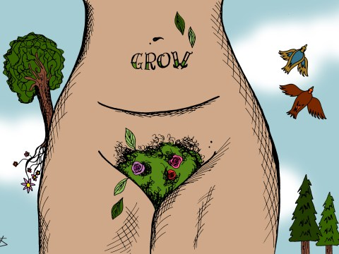 Bring back the bush! Why you should stop waxing your pubic hair and start having amazing sex