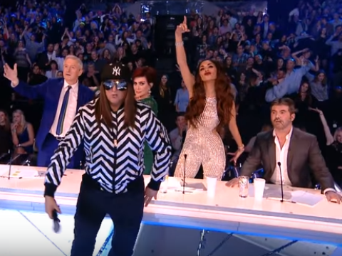 Honey G took on the mannequin challenge LIVE and got the X Factor judges involved too