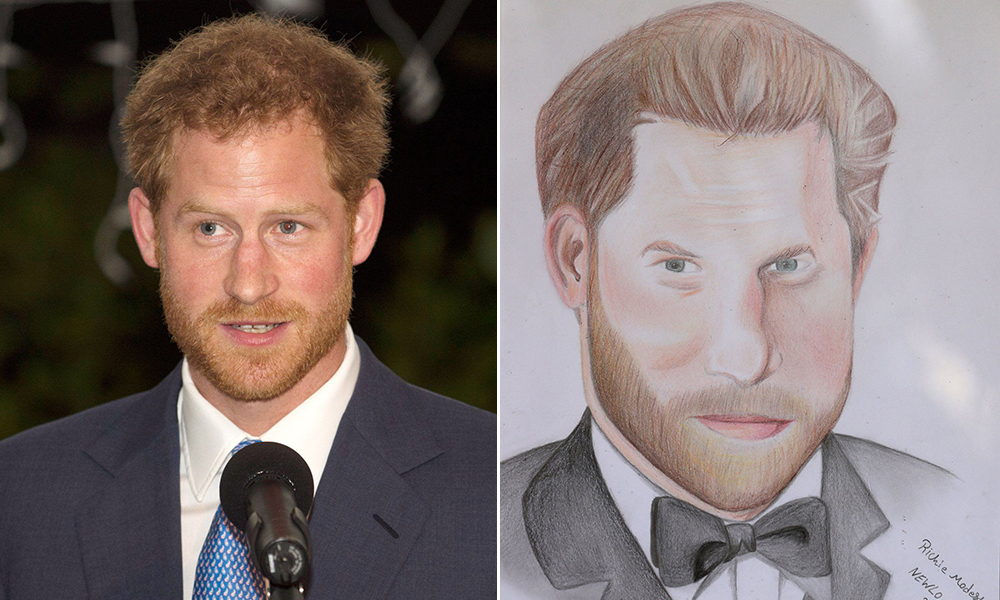 Prince Harry 'taken aback' by unexpected portrait