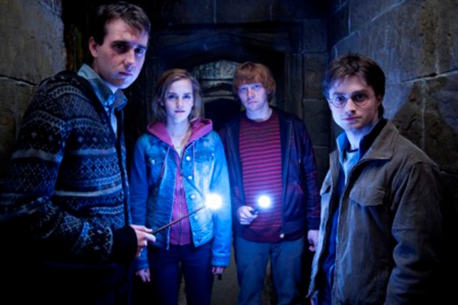 Neville, Hermione, Ron and Harry (Picture: Warner Bros Studios)