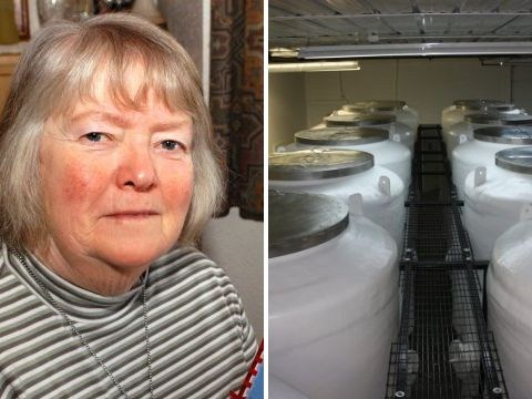 Elderly couple saves £65,000 to be cryogenically frozen after they die