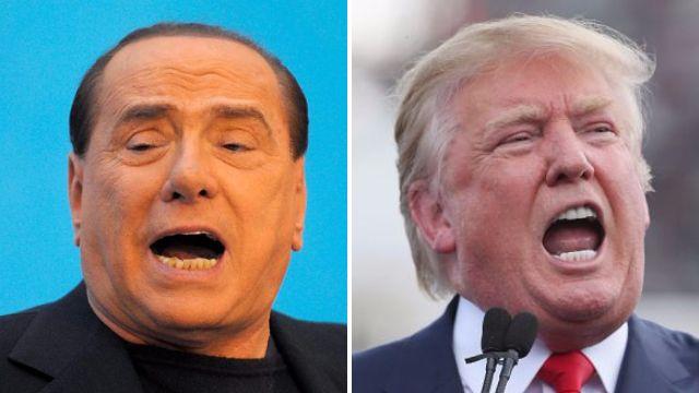 Donald Trump is 'just like Berlusconi', according to Berlusconi