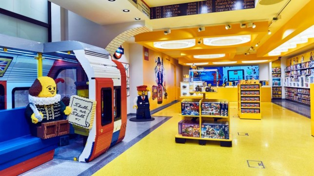 The world's largest LEGO store has just opened in London's Leicester Square