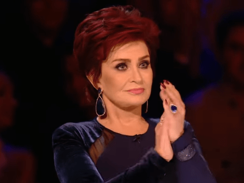 Did The X Factor's Sharon Osbourne just drop the F bomb live on TV?