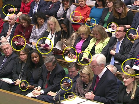 Were you paying attention to John McDonnell's speech? No, neither were his colleagues