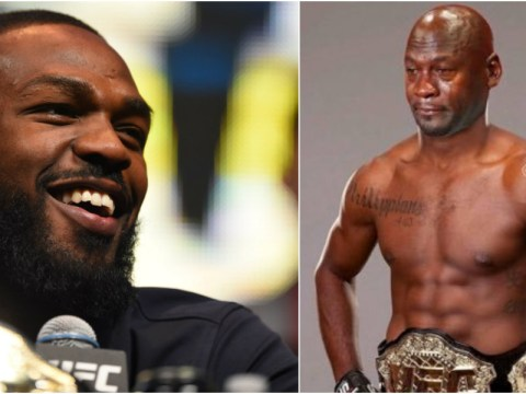 UFC star Jon Jones responds to USADA's drug ban with hilarious picture that is now his Twitter profile