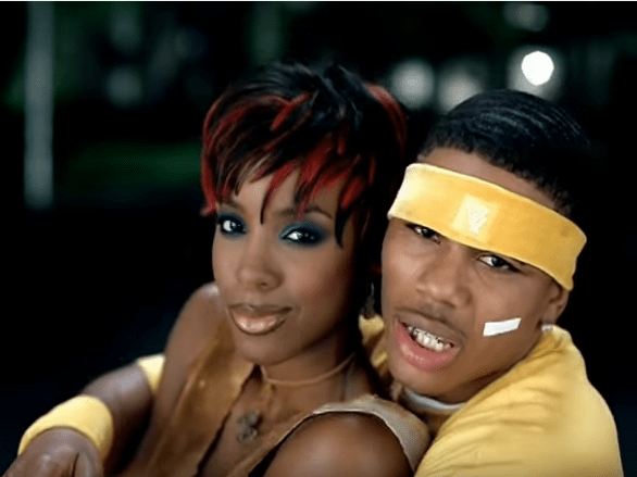 Nelly finally explains why Kelly Rowland tried to text him using a spreadsheet in the Dilemma music video