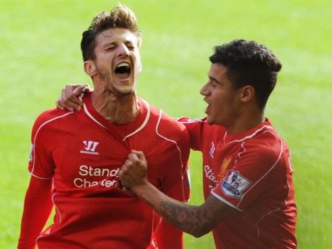 Adam Lallana talks up 'telepathic' relationship with Roberto Firmino and Philippe Coutinho
