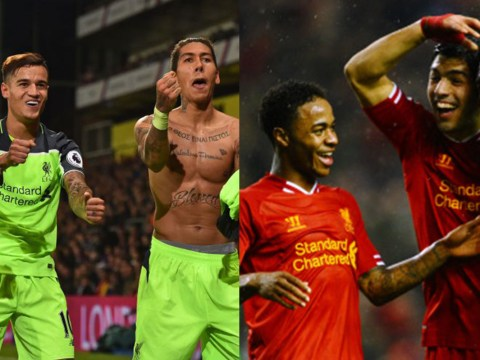 How likely is it Coutinho, Mane and Firmino will beat Suarez, Sturridge and Sterling's Liverpool record?
