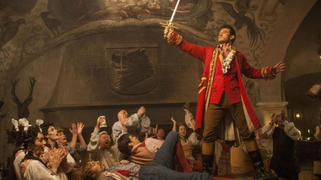 Luke Evans is set to play Gaston in the Beauty And The Beast remake (Picture: Disney)