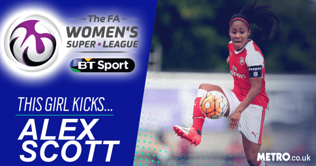Alex Scott WSL Picture: Getty Images - Credit: METRO.co.uk