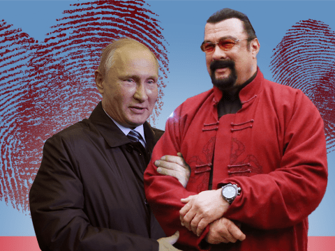 Putin and Steven Seagal crank up bromance as actor granted Russian citizenship