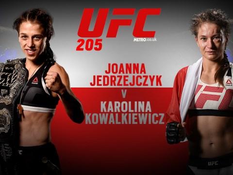 Forget Conor McGregor and Eddie Alvarez: Joanna Jedrzejczyk vs Karolina Kowalkiewicz is the fight you can't afford to miss at UFC 205
