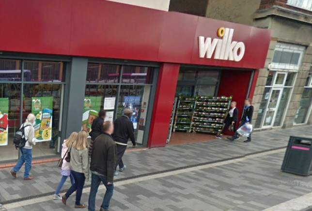 Man chopped off his own toe then started eating it in front of Wilko's shoppers General view of A wilko store in Leicester Picture: Google Maps
