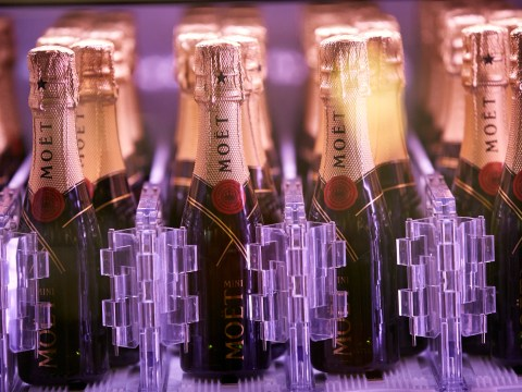 Champagne vending machines are now a thing that exist in London