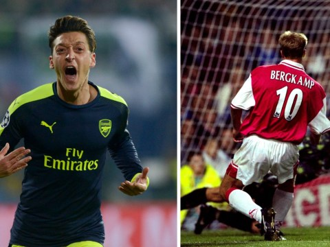 Mesut Ozil v Ludogorets or Dennis Bergkamp v Leicester – which classic Arsenal goal was better?