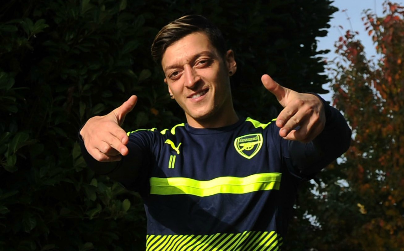 Arsenal star Mesut Ozil is still my role model, reveals ex-Gunner Serge Gnabry