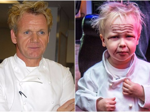 People are dressing their kids up as Gordon Ramsay for Halloween and it's precious