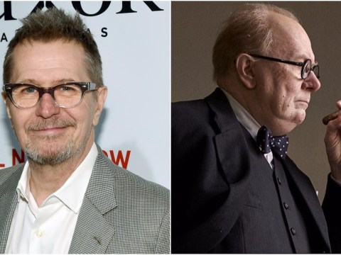 Gary Oldman looks the spitting image of Winston Churchill in first pic from Darkest Hour