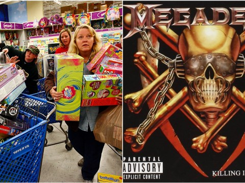 Twitter has been celebrating the REAL Black Friday — aka, the best Megadeth song ever