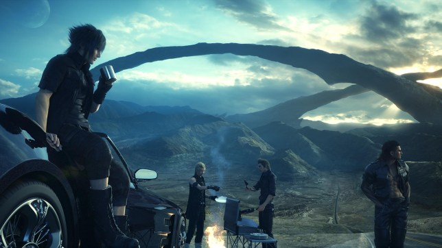 Final Fantasy XV (PS4) - it's finally out