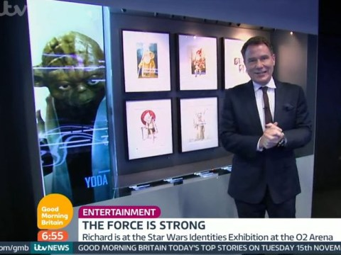 Richard Arnold says Star Wars Yoda legend Frank Oz is dead on Good Morning Britain – but he isn't