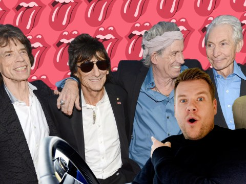 The Rolling Stones 'turn down offer to join James Corden on Carpool Karaoke'