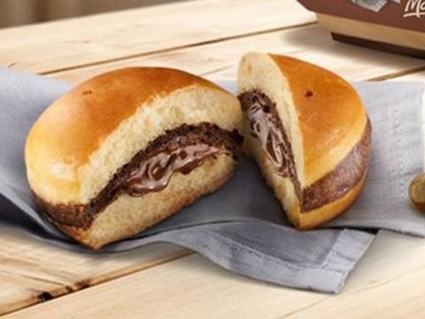McDonald's Italy has introduced a Nutella burger