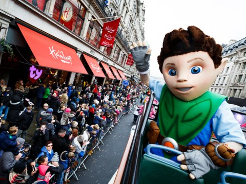 Hamleys toy parade takes over Regent Street with giant inflatable characters
