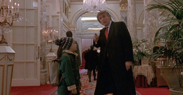 Donald Trump in Home Alone 2 – new President appears in ...