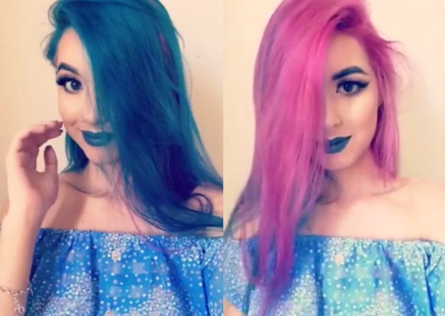 Reddit User Moniquey S Hair Is Two Different Colours At The Same Time Metro News