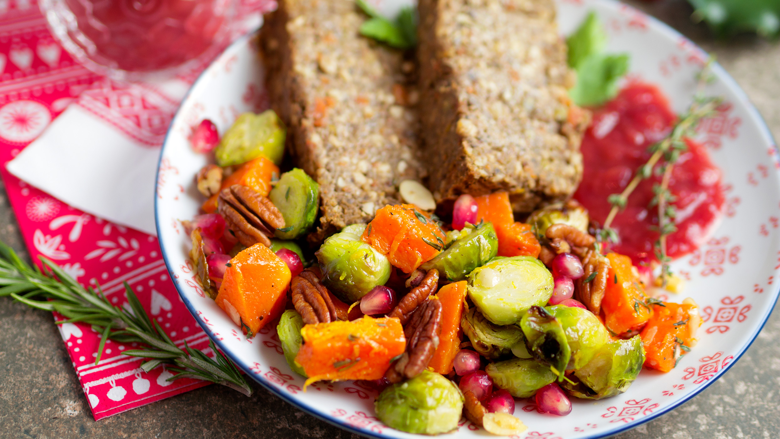 Christmas recipe video: This is how you make a delicious vegan roast