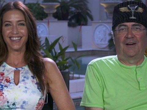 Bonza mate! I'm A Celebrity's Danny Baker and Lisa Snowdon are GLAD they were evicted